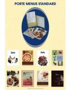 Porte menus standard 6 pochettes